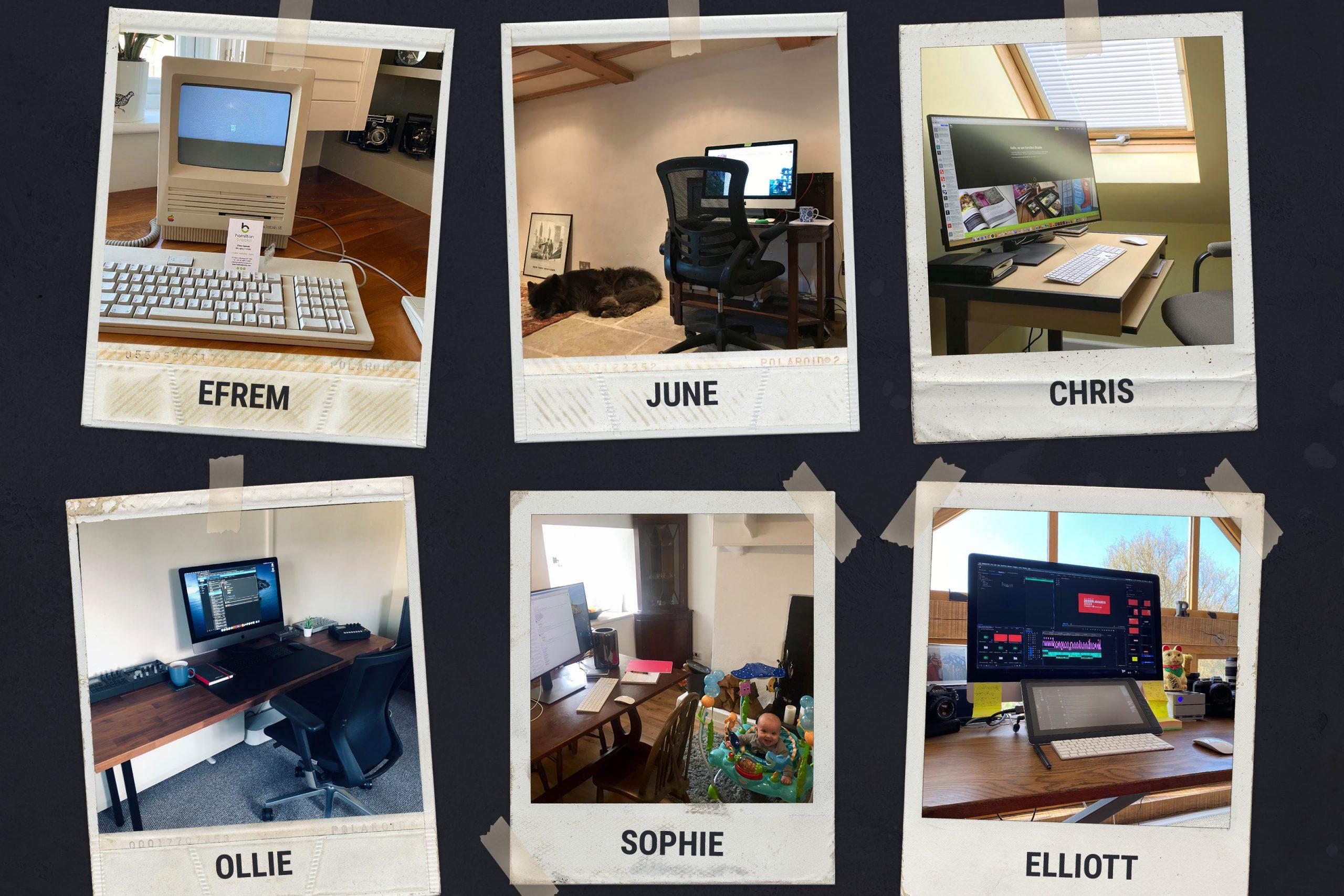 Same team, different desks!