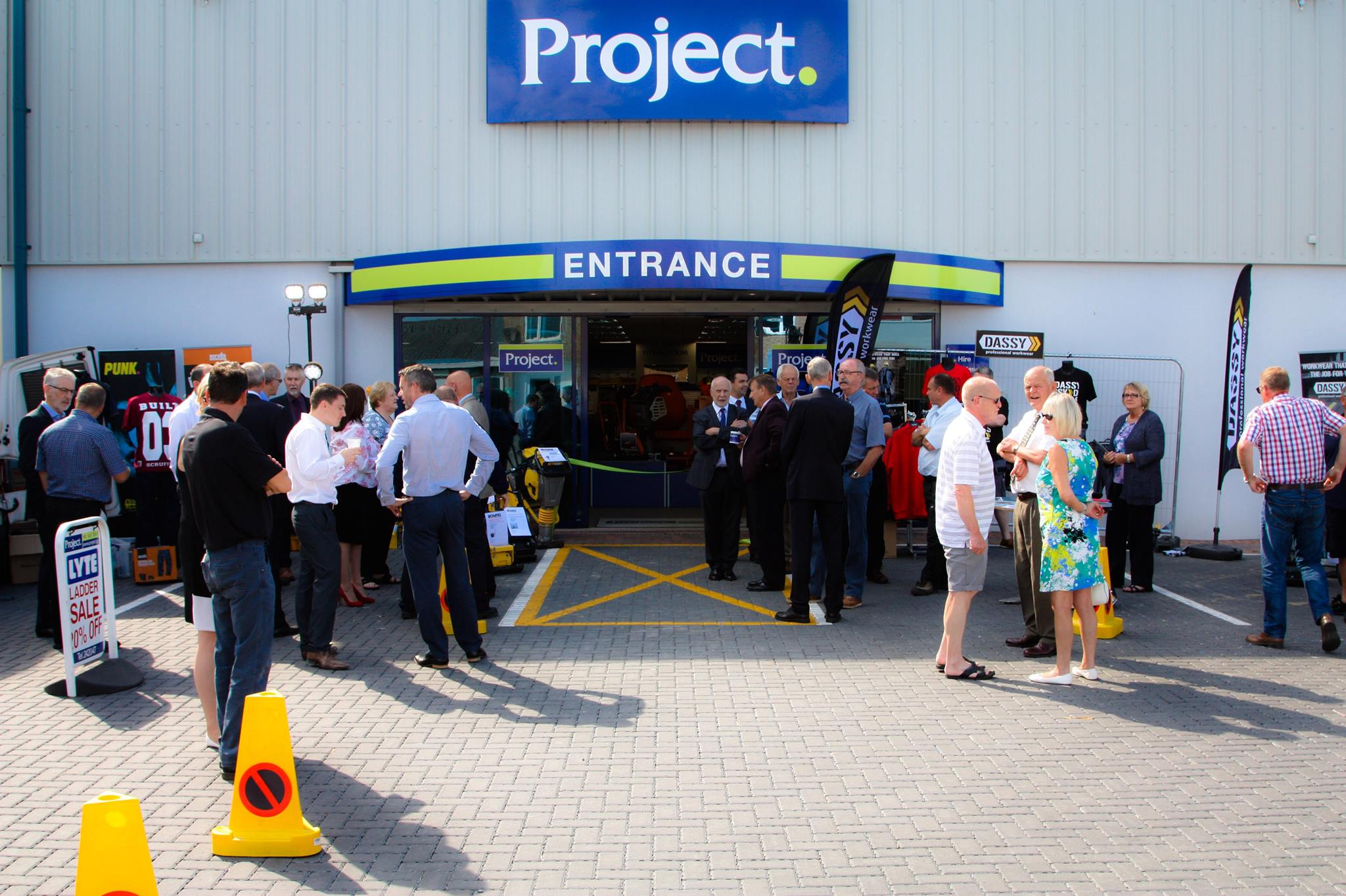 Project Hire celebrates its grand opening