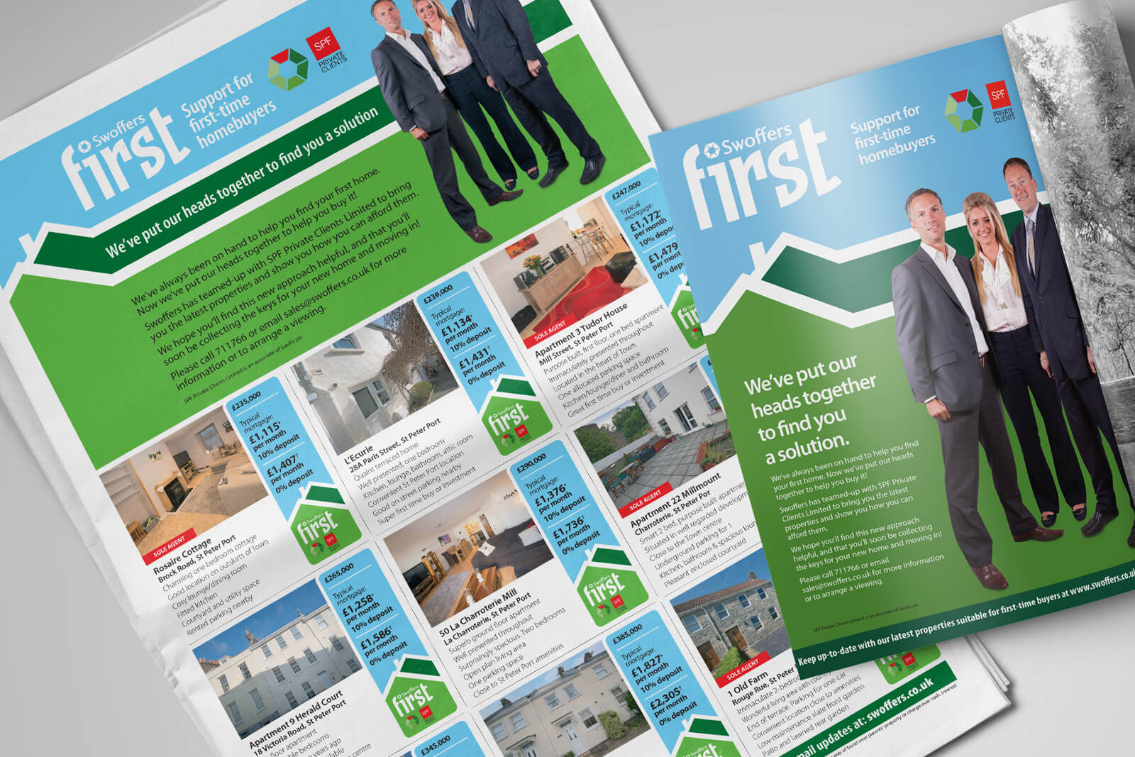 Innovating the property market with Swoffers First