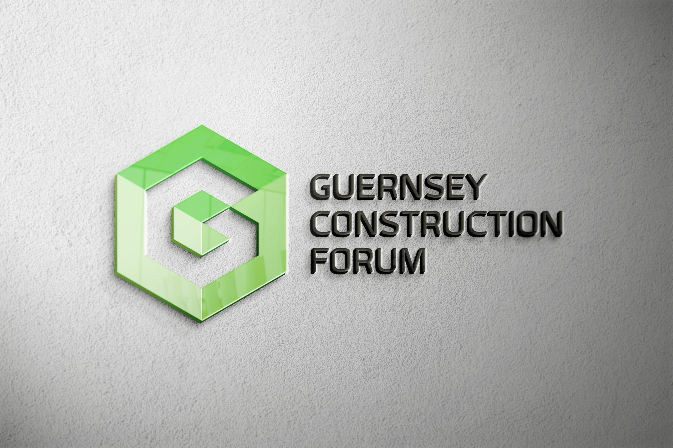 Identity for newly launched Guernsey Construction Forum