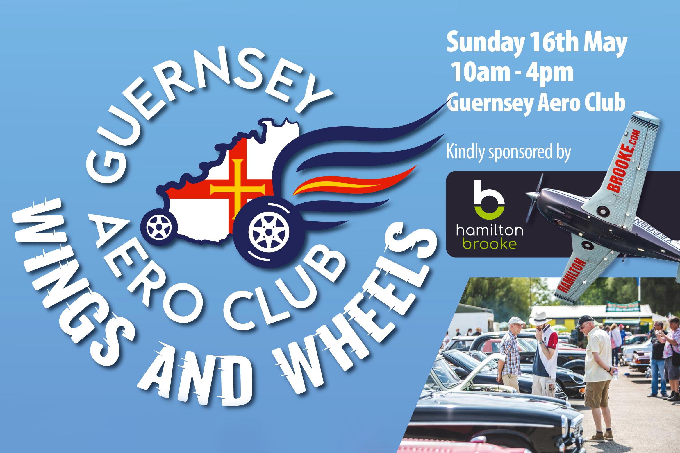 Hamilton Brooke sponsor Guernsey Aero Club 'Wings & Wheels' day